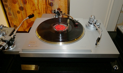 Technics SP 1000 R small complete set up